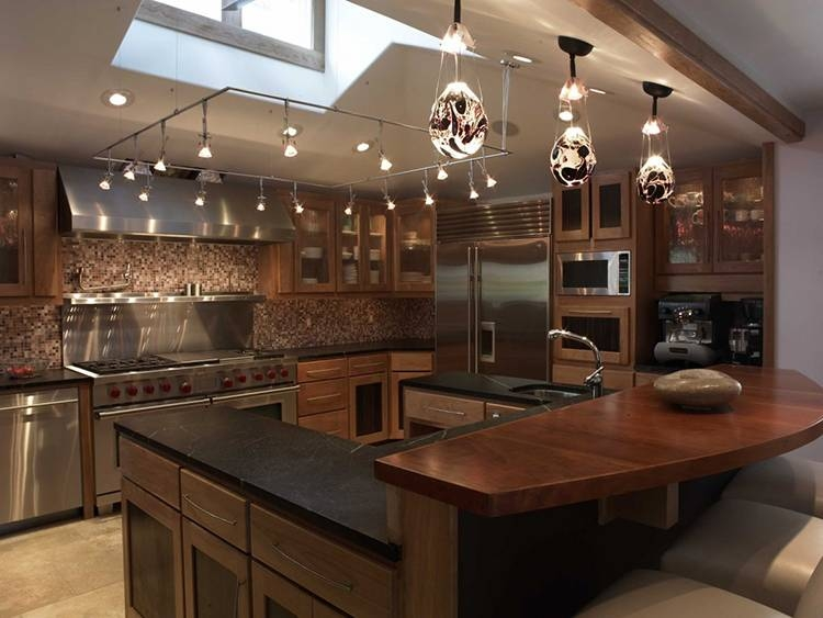 25 Luxury Kitchen Lighting Ideas – Lifetime Luxury Intended For Luxury Track Lighting (View 12 of 15)