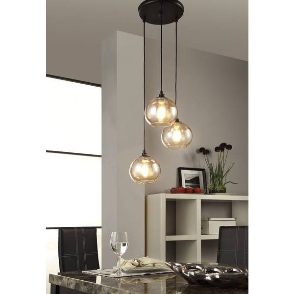 Inspiration about 3 Light Glass Chandelier :: Must Have Monday – Home With Keki Inside West Elm Cluster Pendants (#9 of 15)