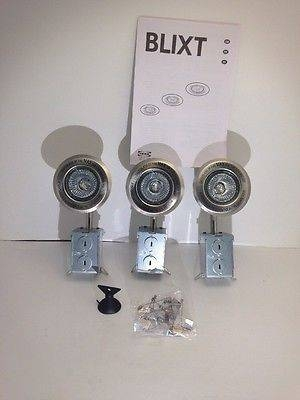 3 Pack Amazing Top 10 The Best This Is Three Lamp Which Very Throughout Ikea Recessed Lighting (View 1 of 15)