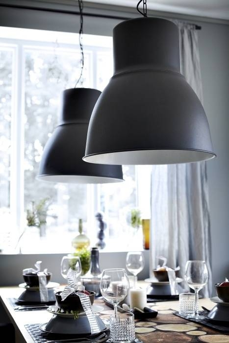 Inspiration about 32 Best Ikea's Hektar Light Images On Pinterest | Live, Kitchen Within Ikea Drum Lights (#13 of 15)