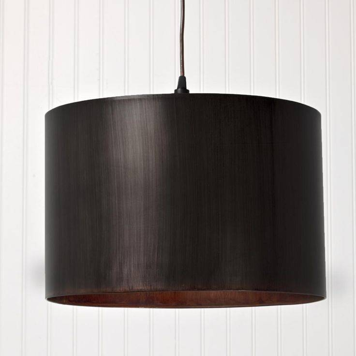Inspiration about 32 Best Oversized Pendants Images On Pinterest | Kitchen Lighting With Brown Drum Pendant Lights (#15 of 15)