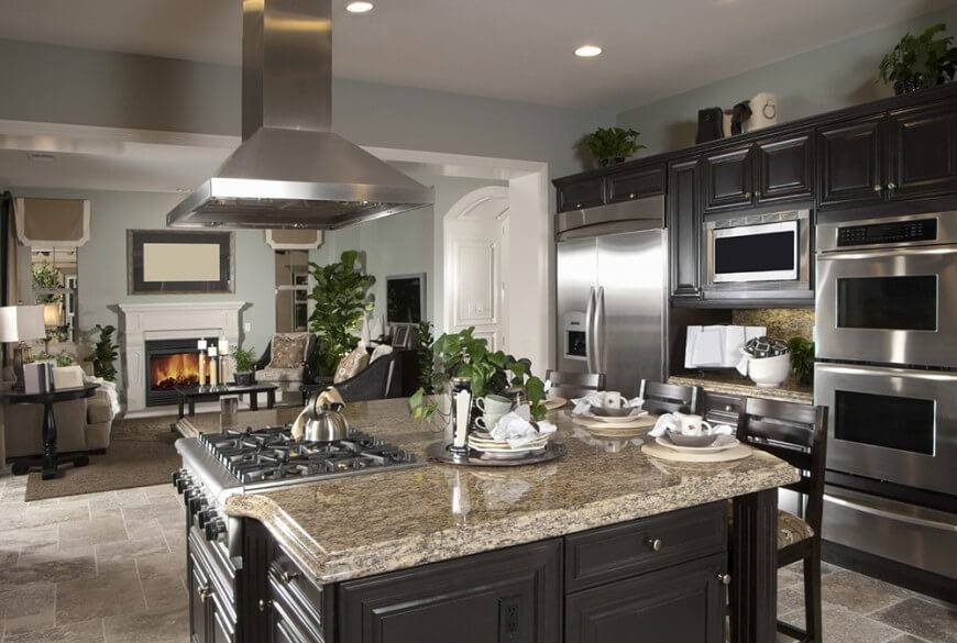 Inspiration about 34 Gorgeous Kitchens With Stainless Steel Appliances Pertaining To Stainless Steel Kitchen Lights (#10 of 15)