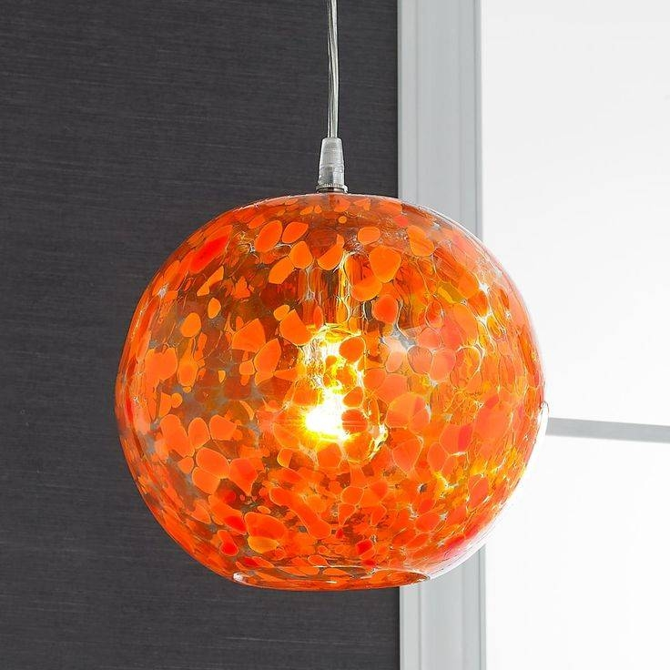 Inspiration about 35 Best Lighting I Like Images On Pinterest | Glass Pendants Throughout Orange Glass Pendant Lights (#14 of 15)
