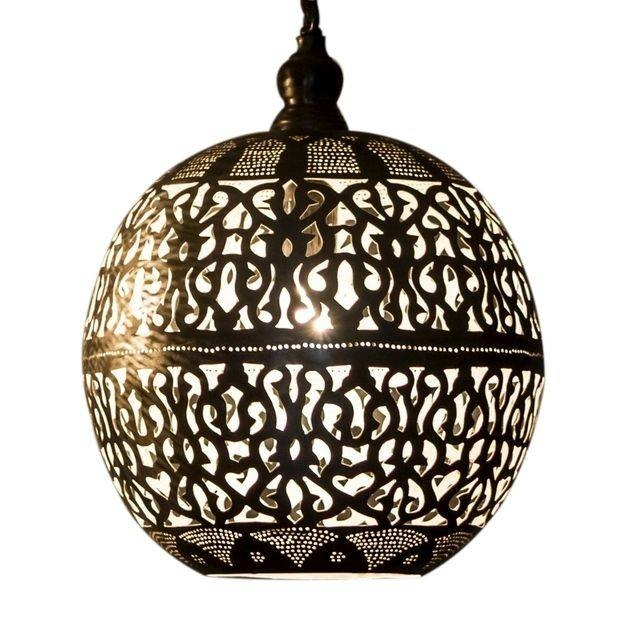 36 Best Moroccan Lighting Images On Pinterest | Moroccan Lighting With Moroccan Style Lights Shades (View 4 of 15)