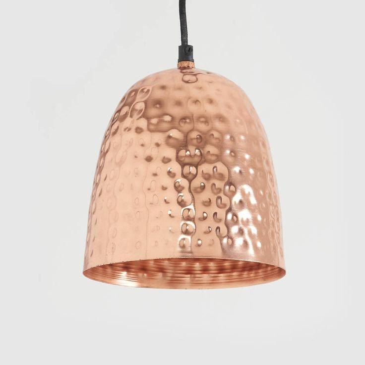 39 Best Lighting Images On Pinterest | Pendant Lights, Hammered Regarding Hammered Copper Pendant Lights (#2 of 15)