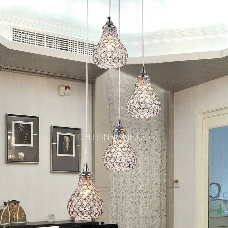 Inspiration about 4 Light Octagon Bead Bathroom Pendant Lights For Octagon Pendant Lights (#12 of 15)
