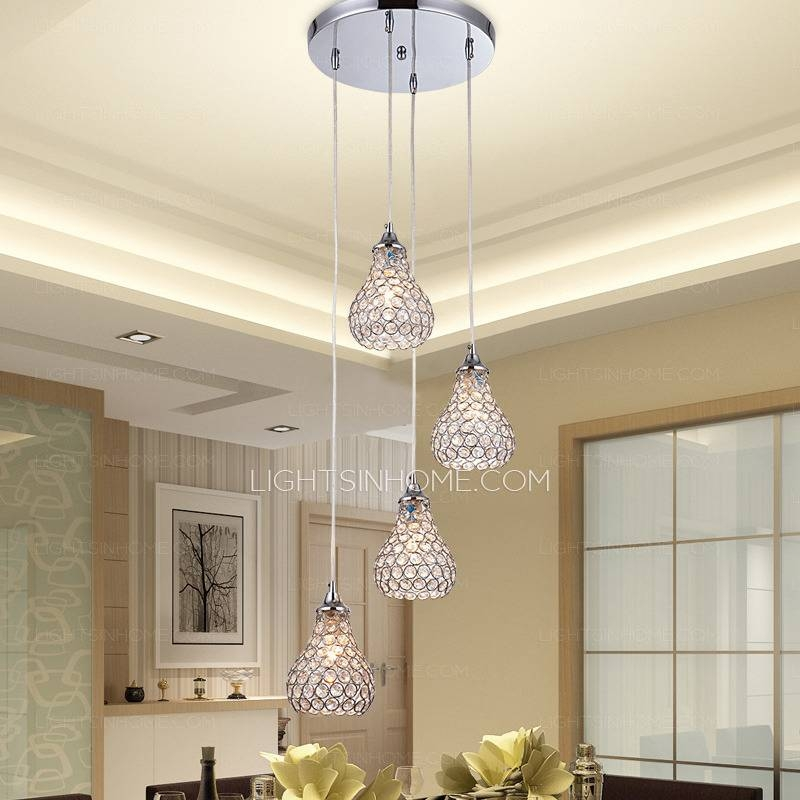 Inspiration about 4 Light Octagon Bead Bathroom Pendant Lights With Regard To Octagon Pendant Lights (#15 of 15)
