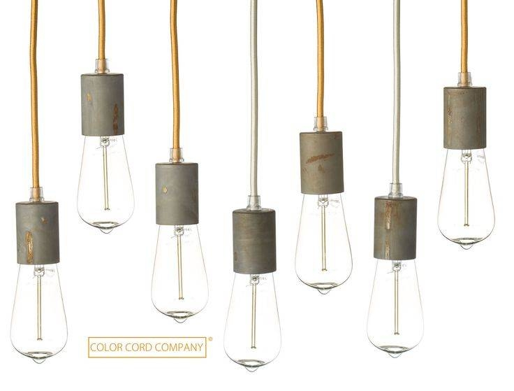 Inspiration about 40 Best Color Cord Company Images On Pinterest | Pendant Lights Throughout Cord Cover Pendant Lights (#13 of 15)