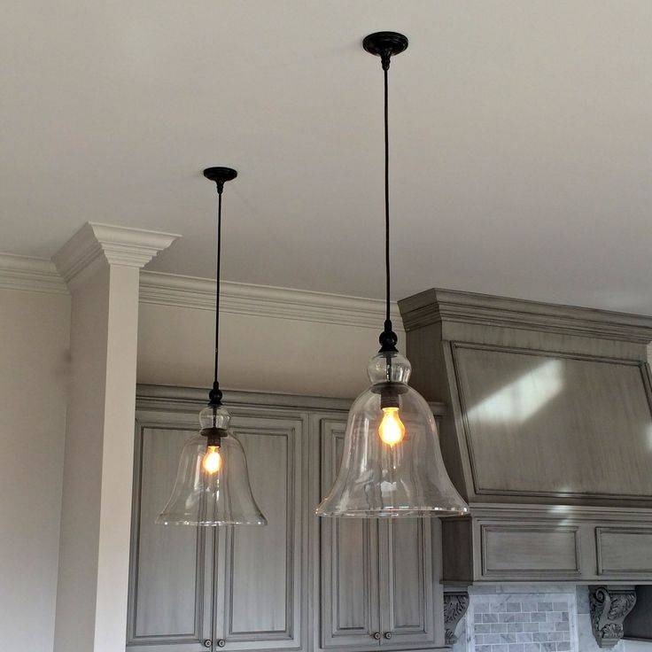 Inspiration about 40 Best Glass Pendant Lights Images On Pinterest | Pendant Lights With Glass Bell Shaped Pendant Light (#3 of 15)