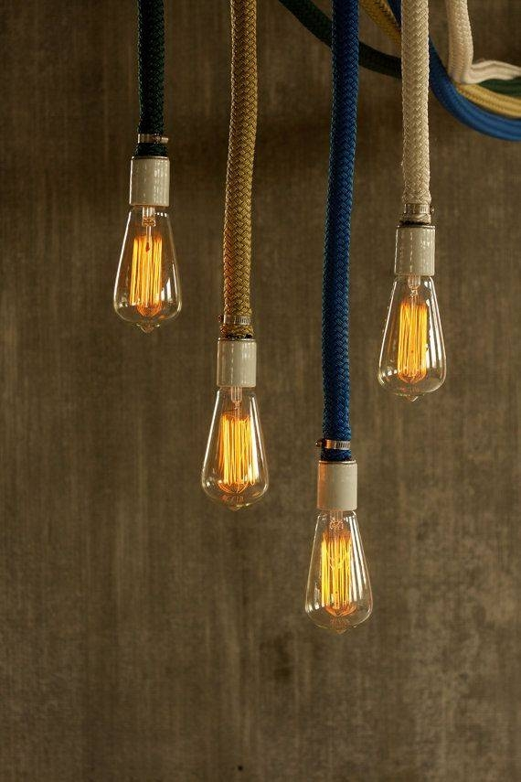 Inspiration about 40 Best Lights From Rope Images On Pinterest | Rope Lighting Inside Fancy Rope Pendant Lights (#11 of 15)
