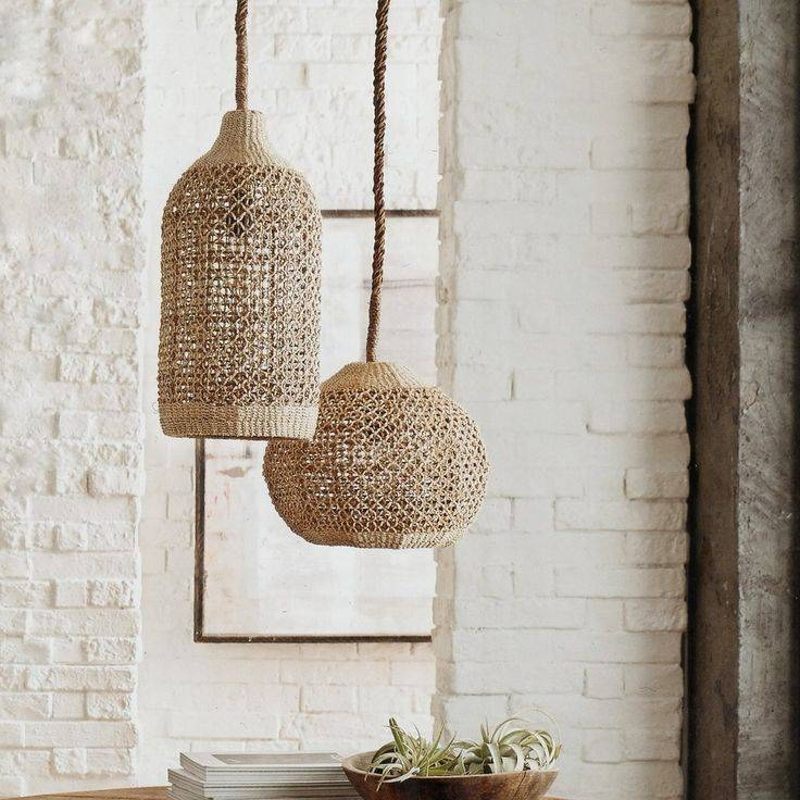 Inspiration about 410 Best Lighting Images On Pinterest | Pendant Lights For Macrame Pendant Lights (#12 of 15)