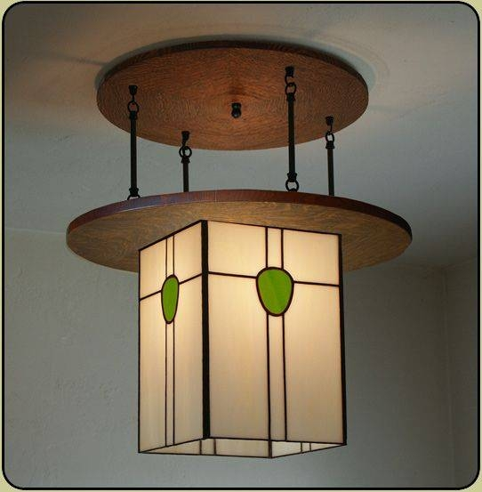 43 Best Arts & Crafts Lighting Images On Pinterest | Craftsman Throughout Arts And Crafts Lights (#1 of 15)