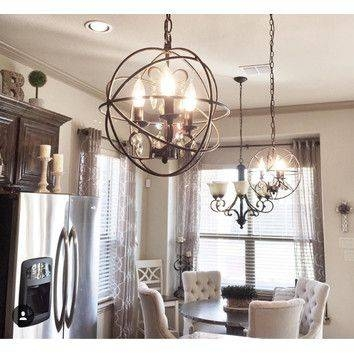 Inspiration about 43 Best Kitchen Lighting Images On Pinterest | Lighting Ideas Throughout Pendant Lighting With Matching Chandeliers (#7 of 15)