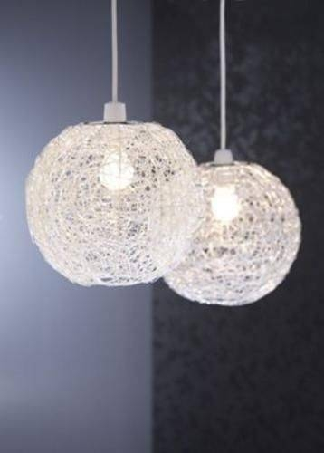 43 Best Stylish Lights Images On Pinterest | Wall Lights, Ceiling Regarding Wire Ball Lights Pendants (#1 of 15)