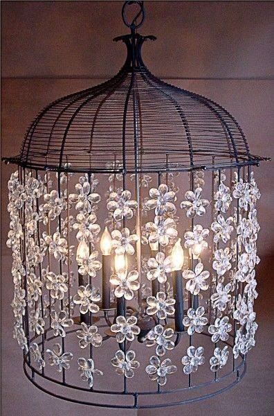 Inspiration about 44 Best Lighting Images On Pinterest | Modern Wall Lights, Sconces Intended For Birdcage Lighting Chandeliers (#11 of 15)