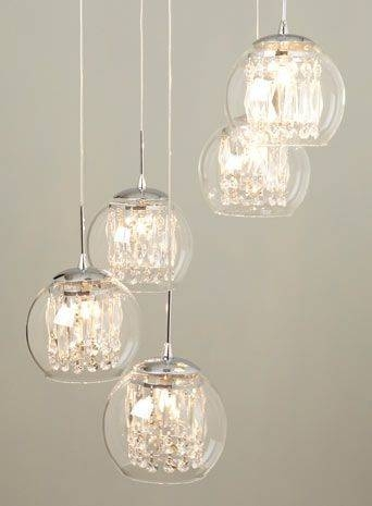 Inspiration about 47 Best Chandeliers Images On Pinterest | Crystal Chandeliers For Cluster Glass Pendant Light Fixtures (#14 of 15)