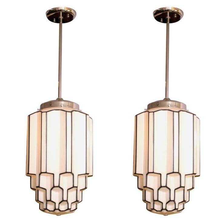 Inspiration about 477 Best Art Deco Ceiling Lights Images On Pinterest   Ceiling With Art Nouveau Pendant Lights (#4 of 15)