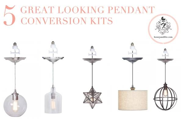 Inspiration about 5 Great Pendant Conversion Light Kits Inside Pendant Lights Conversion Kits (#5 of 15)