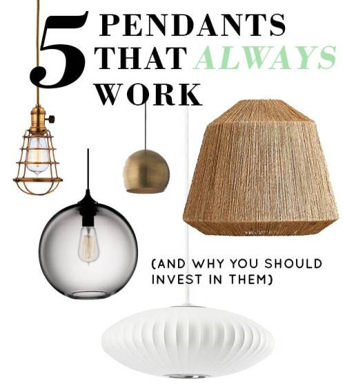 Inspiration about 5 Pendant Lamps That Will Always Work (And Why) – Design*sponge For Threshold Industrial Pendants (#4 of 15)