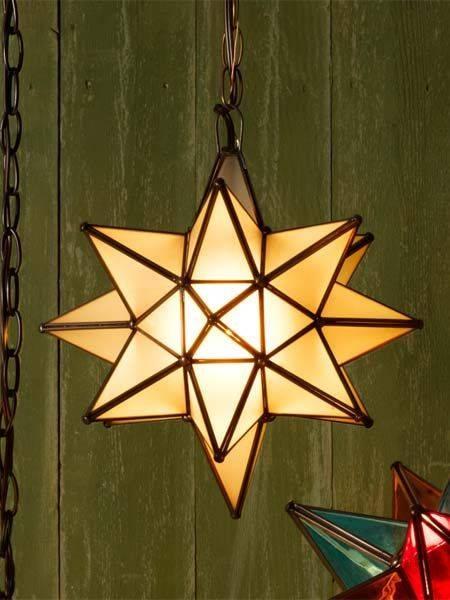 Inspiration about 52 Best Glass Star Lights Images On Pinterest | Star Lights, Star Regarding Mexican Lights Fixtures (#12 of 15)