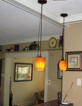 Inspiration about 54 Best Orange Pendant Lights Images On Pinterest | Pendant Lights Pertaining To Orange Pendant Lights For Kitchen (#5 of 15)