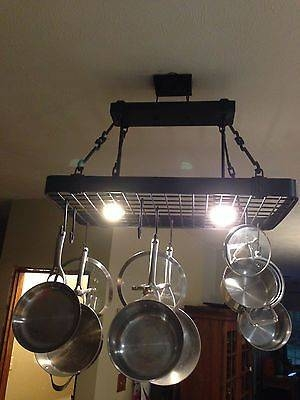Inspiration about 54 Best Pot Hanger Island Light Images On Pinterest | Pot Hanger Regarding Pot Holder Lights Fixtures (#3 of 15)