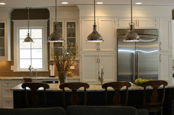Inspiration about 55 Lovely Hanging Pendant Lights For Your Kitchen Island | Decor With Benson Pendant Lights (#12 of 15)