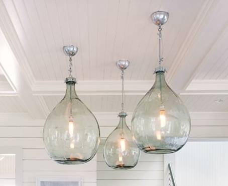 Inspiration about 613 Best Damajuanas / Demijohn. Images On Pinterest | Glass Regarding Demijohn Pendant Lights (#2 of 15)