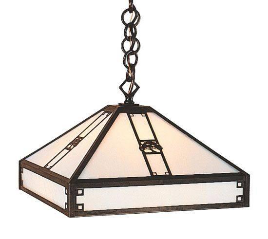 65 Best Craftsman / Arts And Crafts Lighting Images On Pinterest Regarding Arts And Crafts Pendant Lights (#3 of 15)