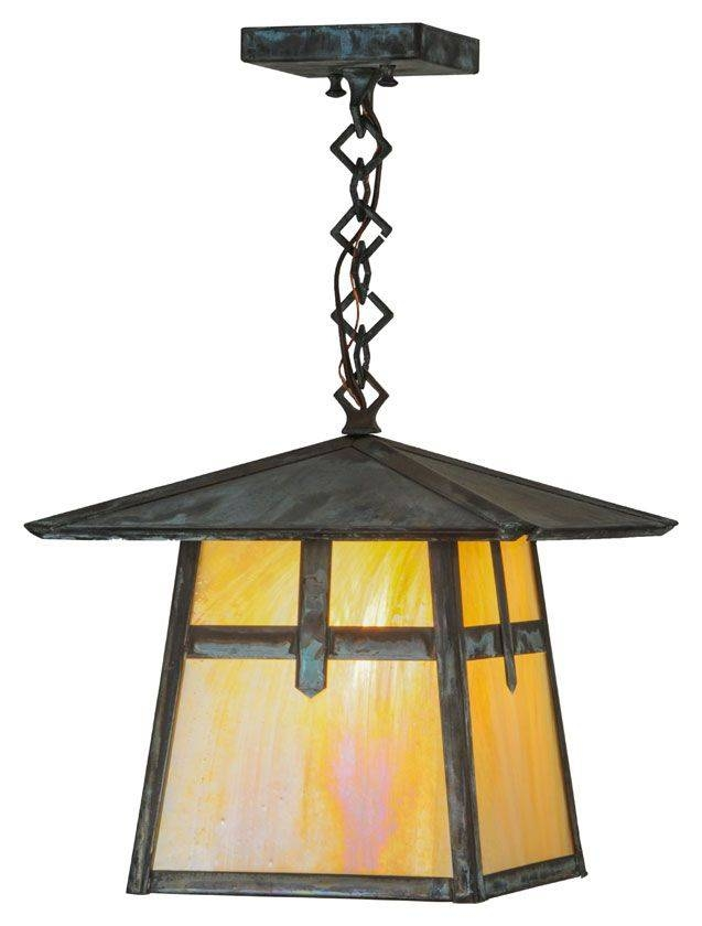 Inspiration about 65 Best Craftsman / Arts And Crafts Lighting Images On Pinterest With Regard To Mission Pendant Light Fixtures (#10 of 15)