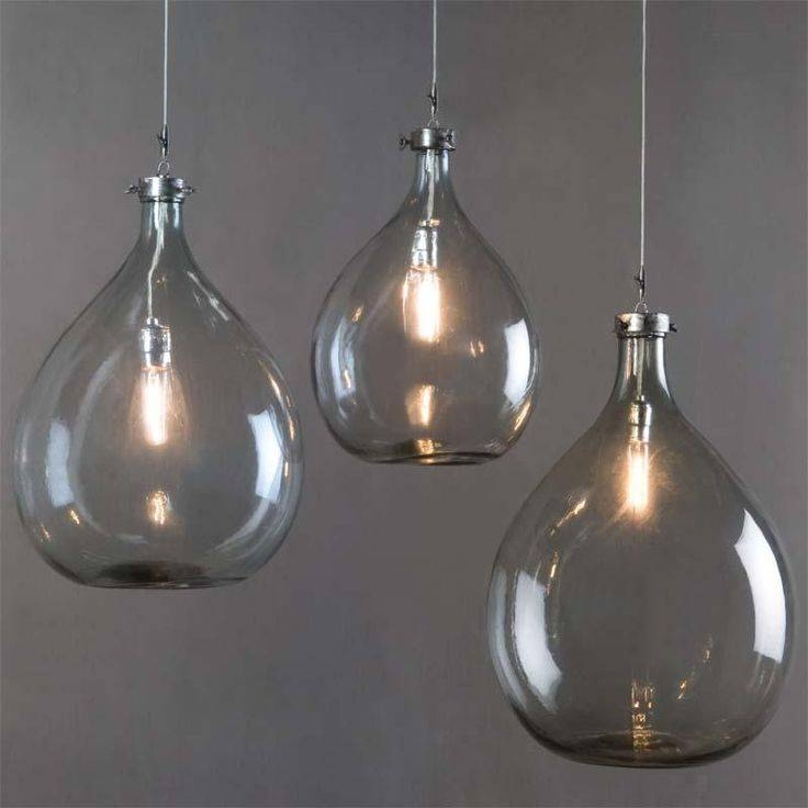 15 best collection of wine jug pendant lights - Wine bottle pendant light ...