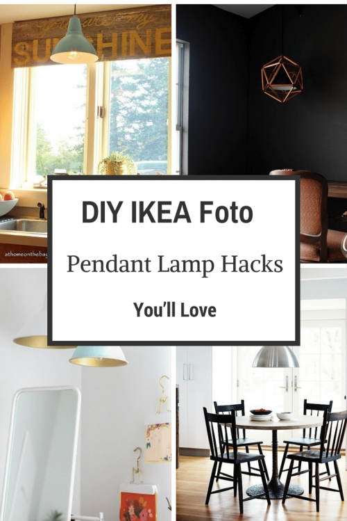 7 Diy Ikea Foto Pendant Lamp Hacks You'll Love – Shelterness Within Ikea Plug In Pendant Lights (View 7 of 15)