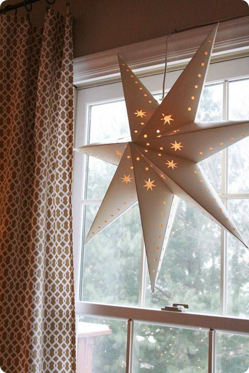 70 Best Paper Stars Images On Pinterest | Stars, Paper Stars And Within Paper Star Pendant Lights (#3 of 15)
