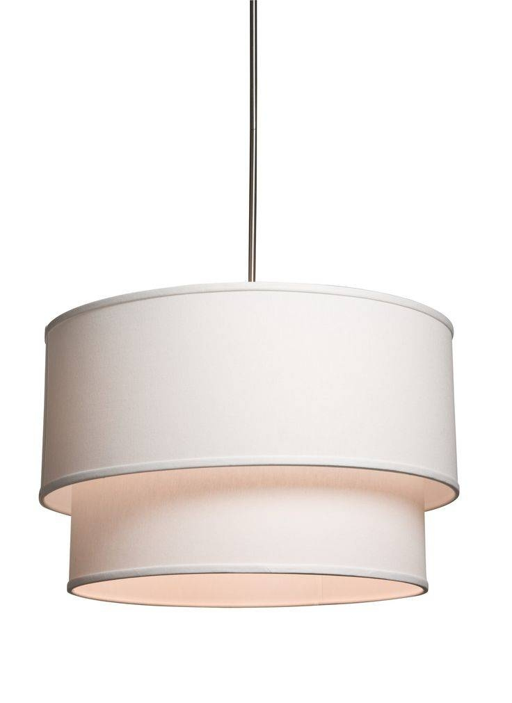 73 Best Kitchen Lighting Options Images On Pinterest | Kitchen Within White Drum Pendants (View 13 of 15)