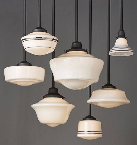 75 Best Schoolhouse Lighting Images On Pinterest | Rose City Within Large Schoolhouse Pendant Lights (#4 of 15)