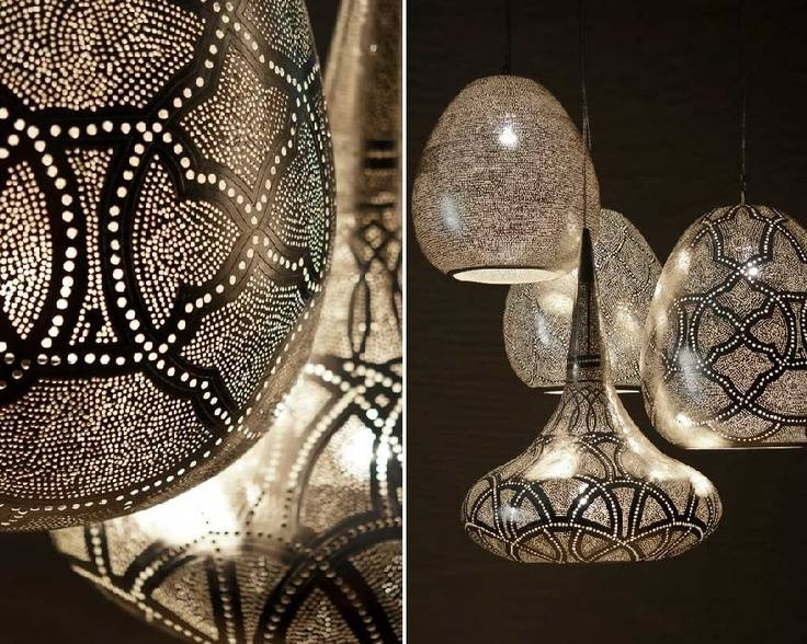 77 Best L I G H T I N G Images On Pinterest   Lighting Ideas Intended For Punched Tin Pendant Lights (#2 of 15)