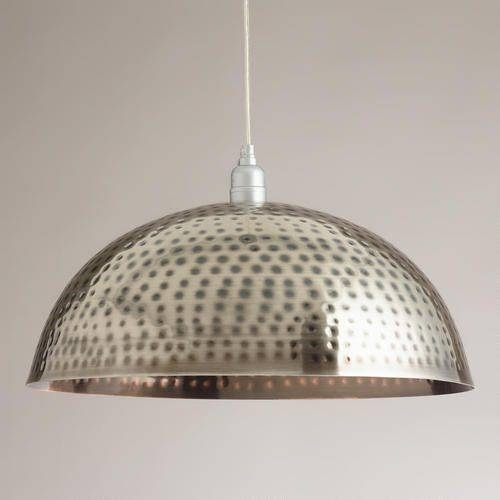 78 Best Lighting Images On Pinterest | Lighting Ideas, Lights And With Regard To Hammered Metal Pendant Lights (View 4 of 15)