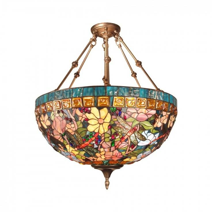 79 Best Tiffany Light Images On Pinterest | Stained Glass, Tiffany Intended For Dale Tiffany Pendant Lights (#1 of 15)
