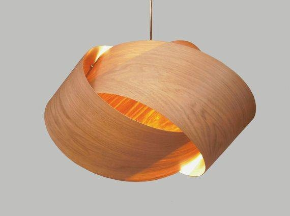 Inspiration about 98 Best Pendant Lighting Images On Pinterest | Pendant Lighting Regarding Wood Veneer Lights Fixtures (#10 of 15)