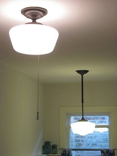 A Light Fixture With No Switch | Bungalow Bungahigh With Regard To Pull Chain Pendant Lights Fixtures (View 8 of 15)