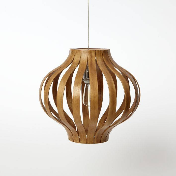 A Perfect Gray: Bentwood Pendant Lights With Regard To Bentwood Lighting (#2 of 15)