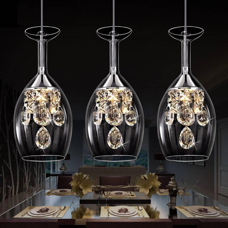 Acrylic Wine Glass Pendant Light Reviews – Online Shopping Acrylic With Wine Glass Pendant Lights (#2 of 15)