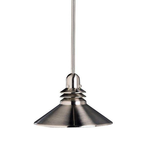 Aesthetic Brushed Nickel Kitchen Pendant Lights Of Metal Lamp Inside Brushed Steel Pendant Lights (#2 of 15)