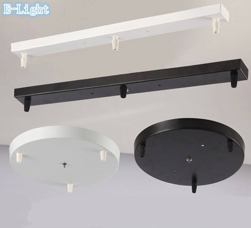 Popular Photo of Base Plate Pendant Lights