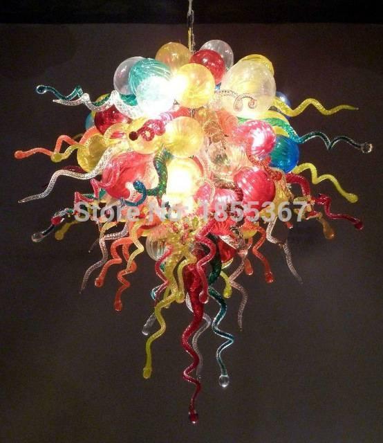 Aliexpress : Buy Free Shipping Venetian Glass Lamp Murano Within Venetian Glass Ceiling Lights (#4 of 15)