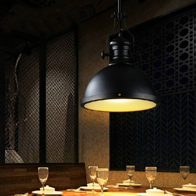 Aliexpress : Buy Industrial Style Pendant Lighting Restaurant Pertaining To Restaurant Pendant Lighting (View 13 of 15)