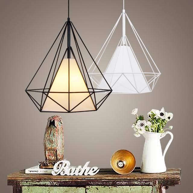 Aliexpress : Buy Modern Metal Birdcage Pendant Light Black Throughout Bird Cage Pendant Lights (#1 of 15)