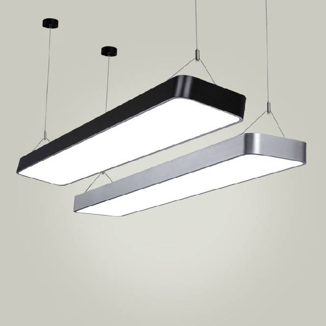 Aliexpress : Buy Modern Office Light Pendant Lights Simple Led In Commercial Pendant Lights (View 4 of 15)