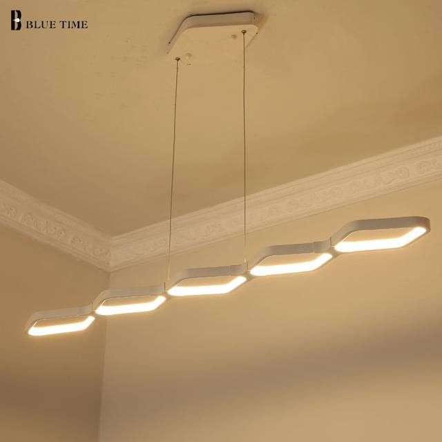 Aliexpress : Buy Modern Pendant Lights Kitchen Living Dinging Pertaining To Remote Control Pendant Lights (View 10 of 15)