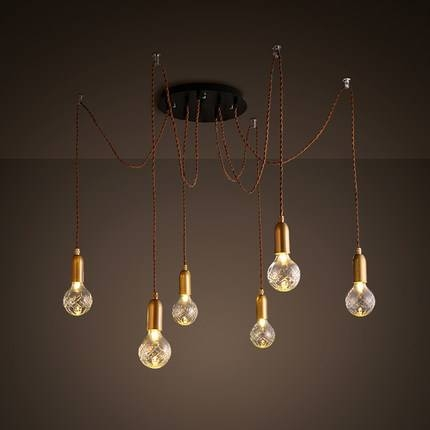 Aliexpress : Buy Modern Restaurant Lighting Multiple Arms With Multi Arm Pendant Lights (#4 of 15)